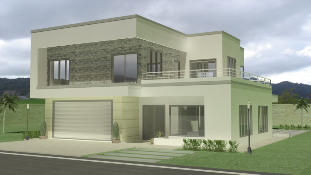 2 storey homes for Trinidad house plans
